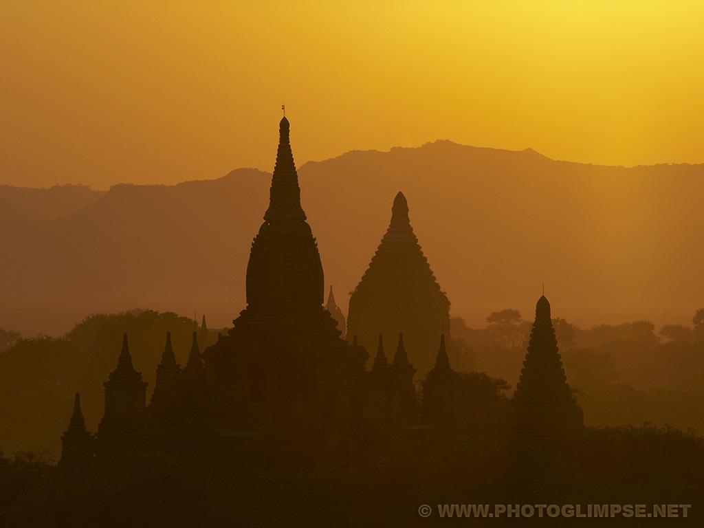 Photoglimpse Bagan Temples Wallpapers