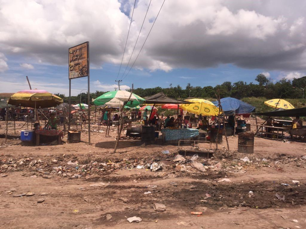 Morning market in Geruhu, Port Moresby