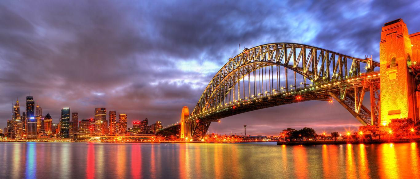 Sydney Harbour Bridge Wallpaper 14 - 1366 X 584   stmed.net