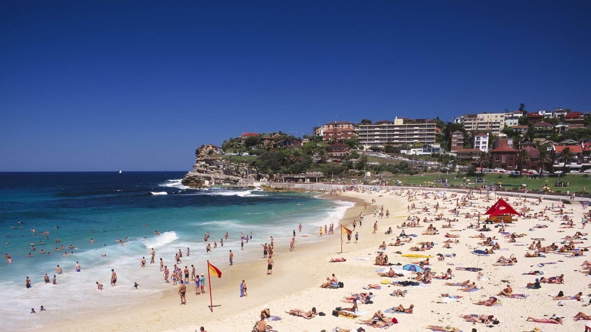 Optus Nokia Serve Bondi Beach | HD Beach Wallpapers for Mobile and ...