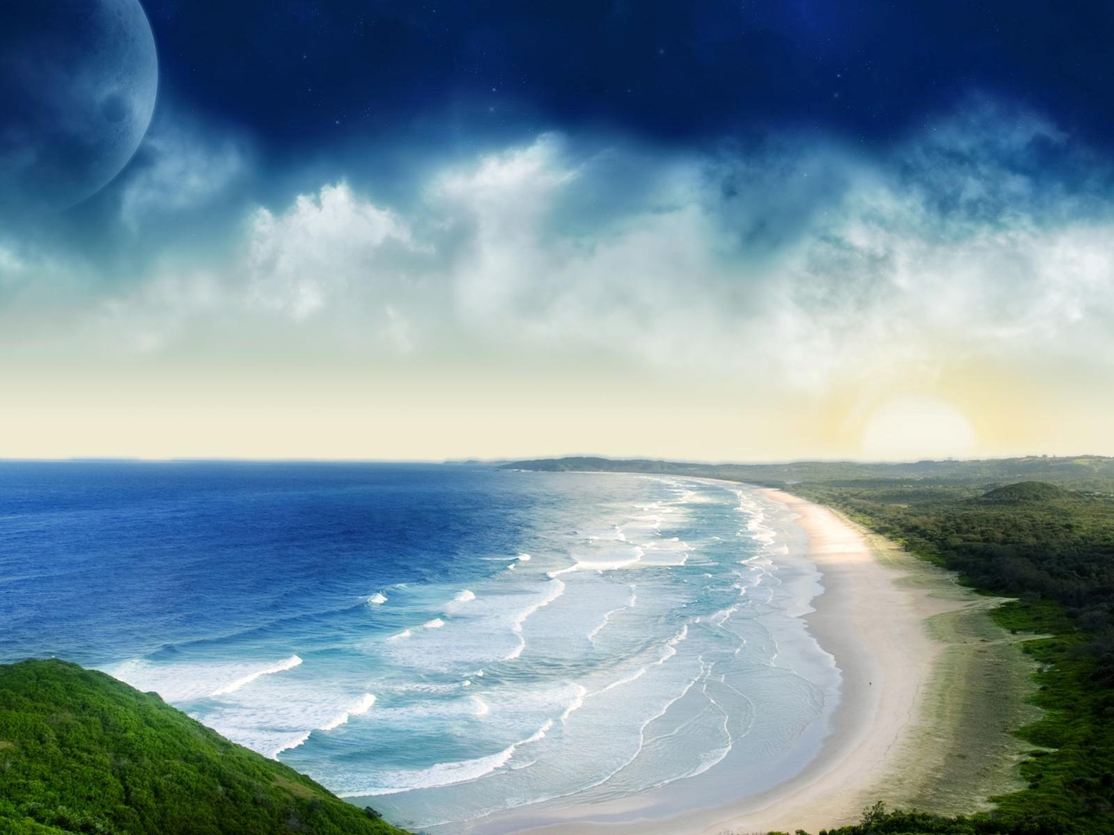 Nice Bondi Beach in South Wales Australia Wallpapers | HD Wallpapers