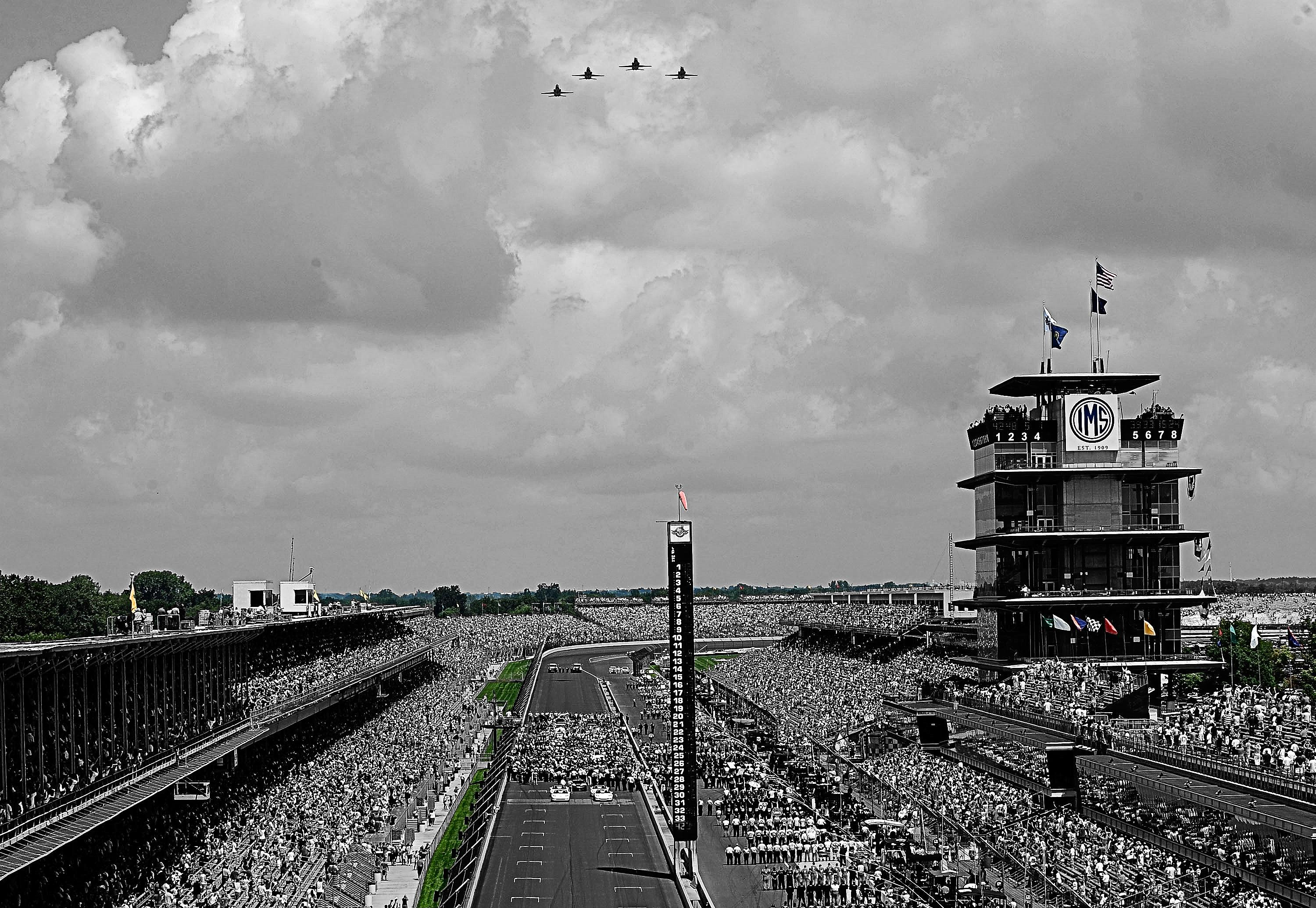 The Indianapolis Motor Speedway, located in Speedway, Indiana HD ...