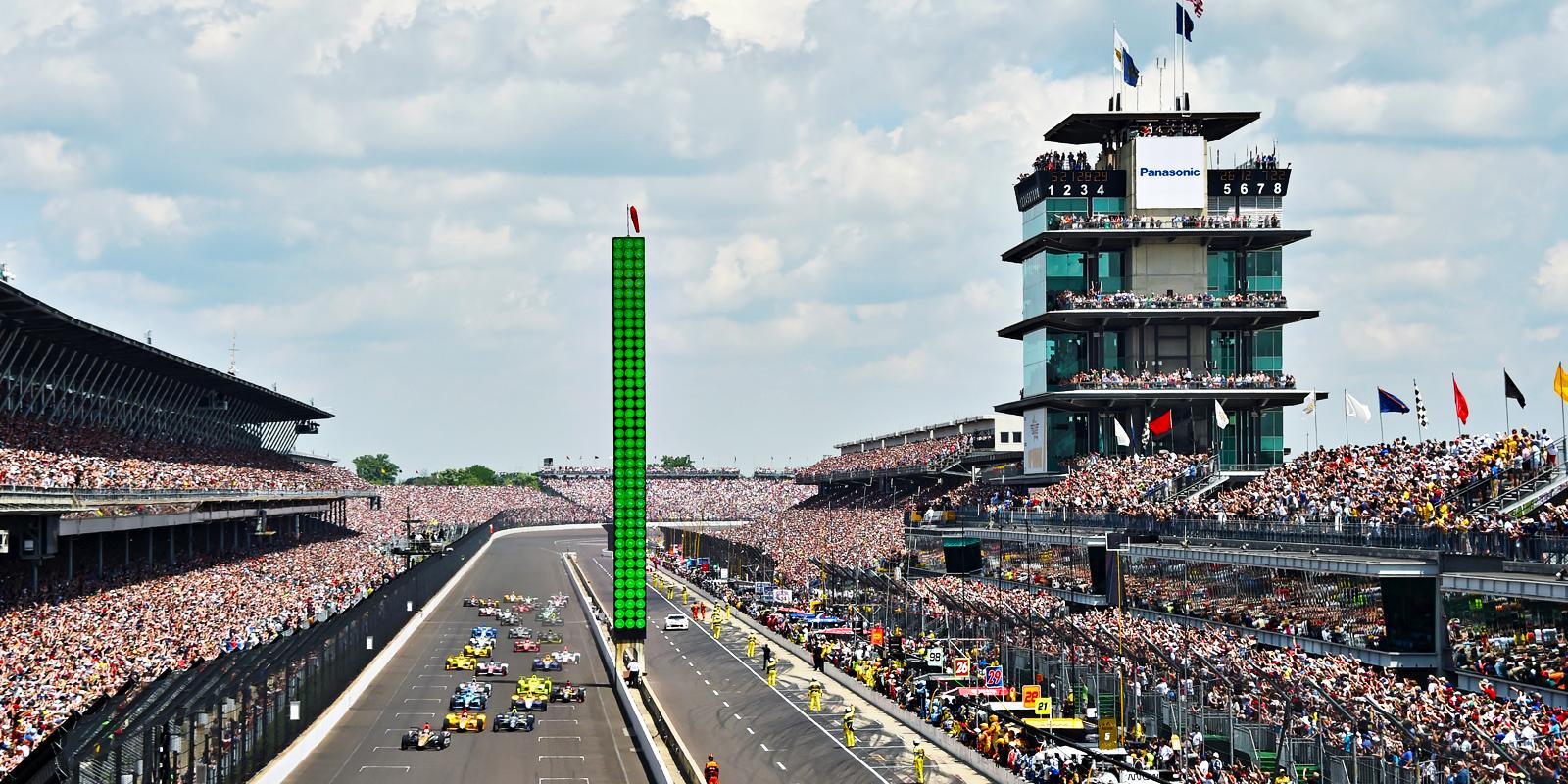 Indianapolis Motor Speedway (Indiana State) : The highest-capacity ...