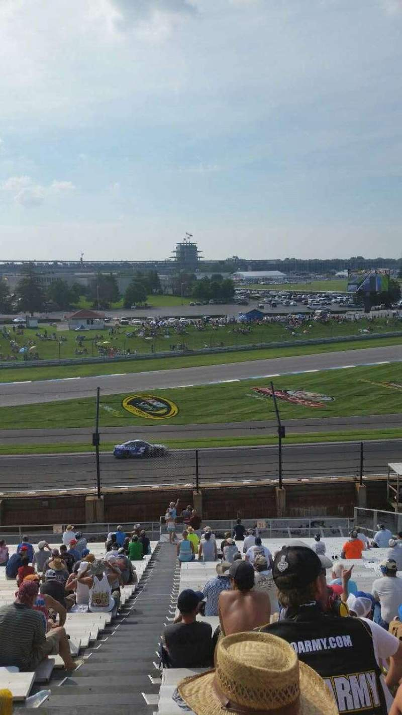 Indianapolis Motor Speedway, section 32, row QQ, seat 1 - Brickyard ...