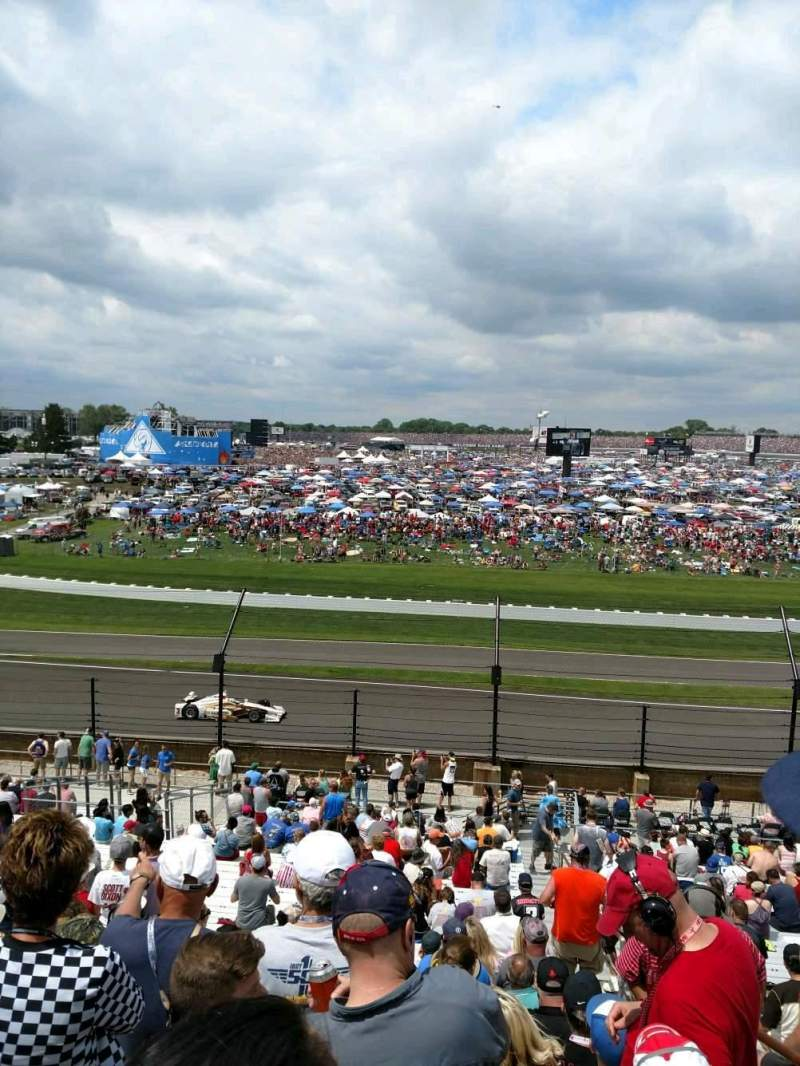 Indianapolis Motor Speedway, section 32, row KK, seat 1 ...