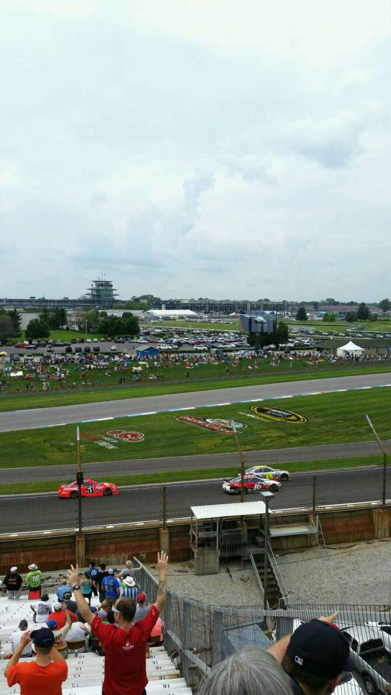 Indianapolis Motor Speedway, section 32, row QQ, seat 14 - Brickyard ...
