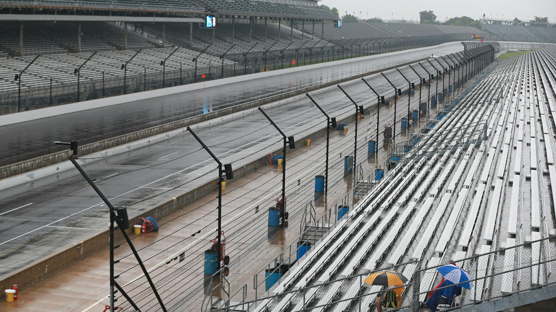 NASCAR's Saturday schedule at Indy rained out by remnants of ...
