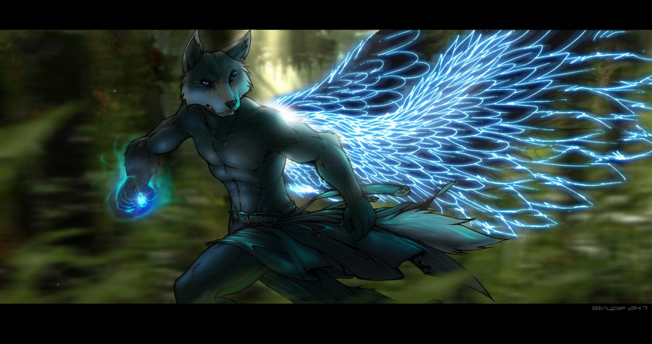 Wolf With Wings Wallpapers - Wallpaper Cave
