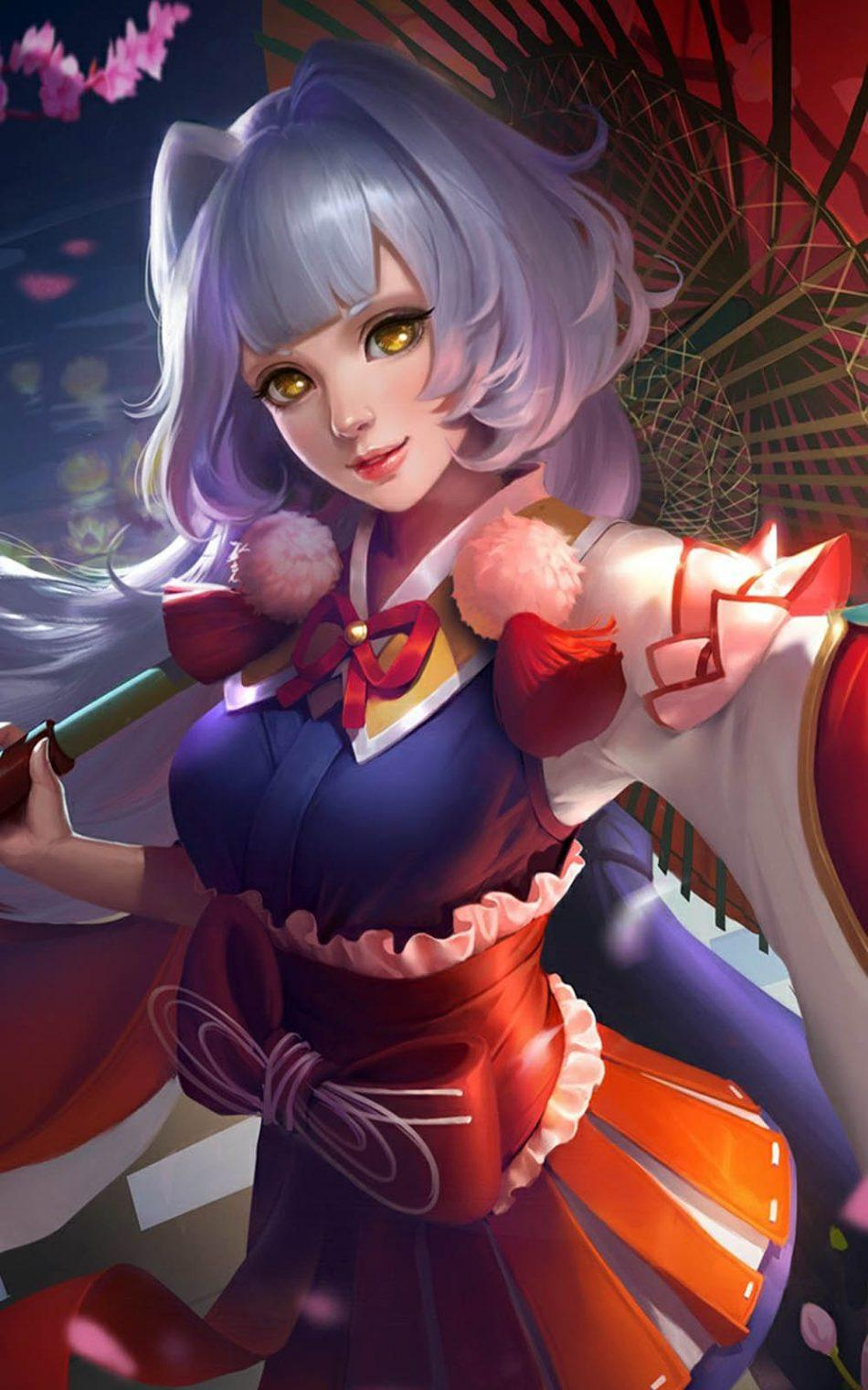 Kagura Mobile Legends Wallpaper HD 4k