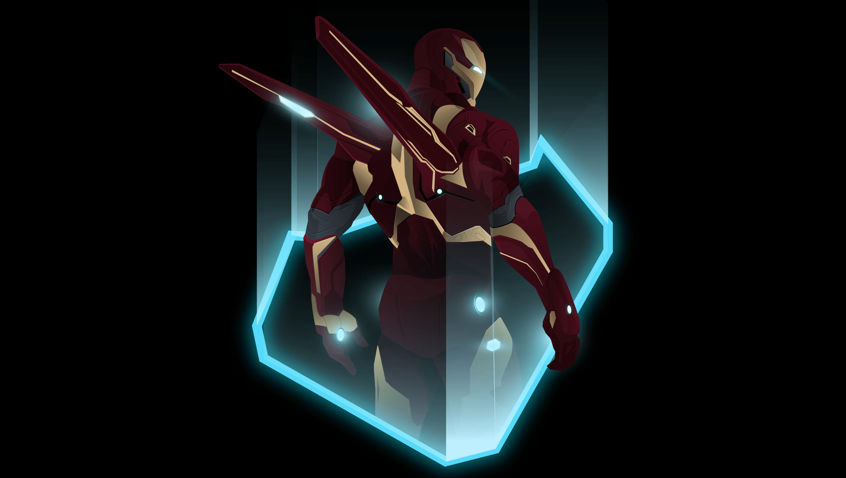 Iron Man Endgame Wallpapers Wallpaper Cave
