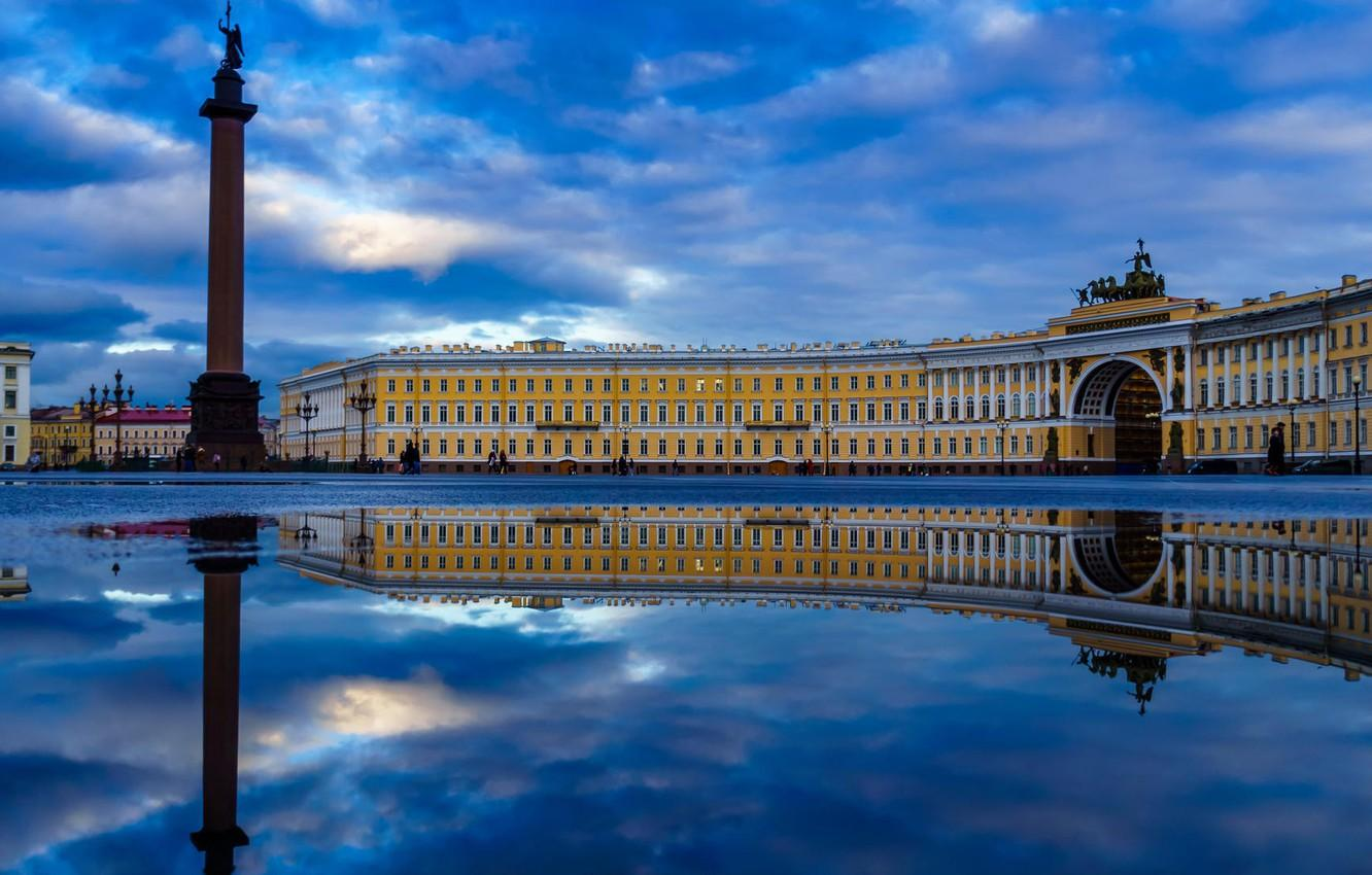 Wallpaper Russia, Peter, Saint Petersburg, Palace square, St ...