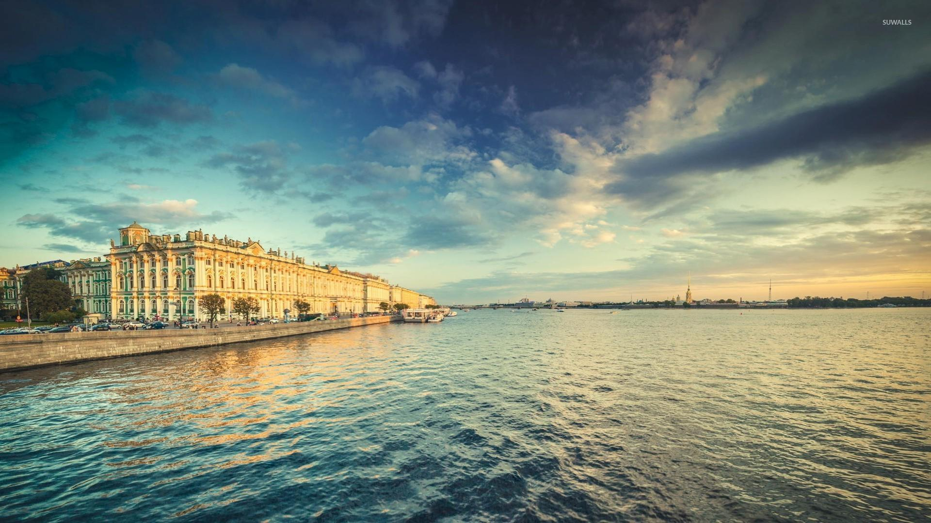 River Neva in Saint Petersburg wallpaper - World wallpapers - #48492