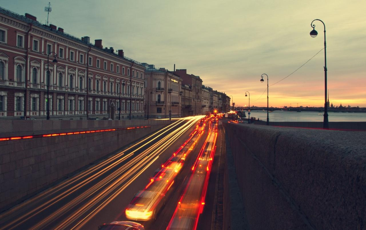 Saint Petersburg at Sunset wallpapers | Saint Petersburg at Sunset ...