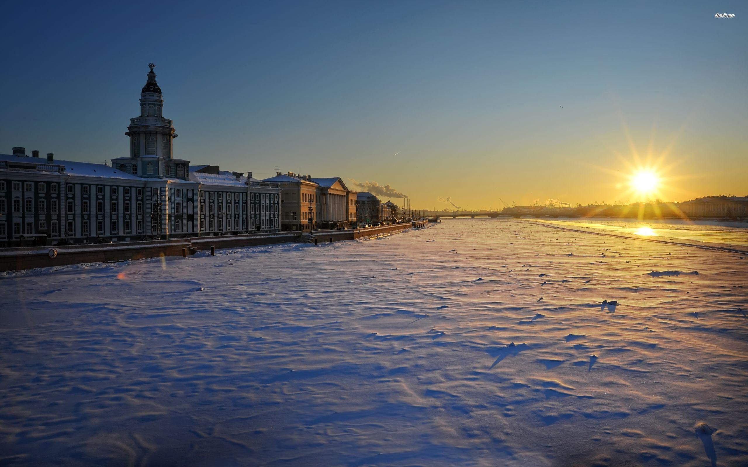 Winter in Saint Petersburg, Russia wallpaper - World wallpapers - #21853