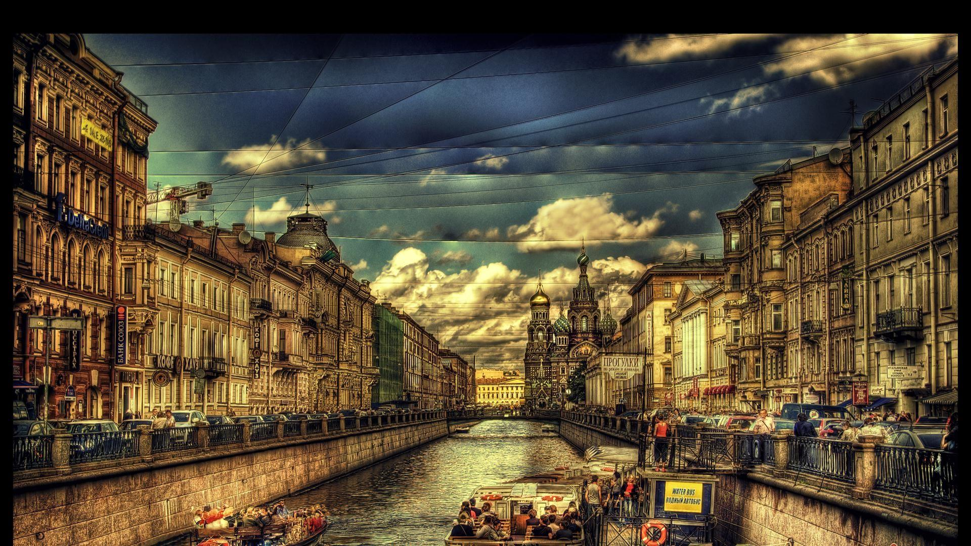 WallpaperMISC - Saint Petersburg HDR HD Wallpaper 2 - 1920 X 1080 ...