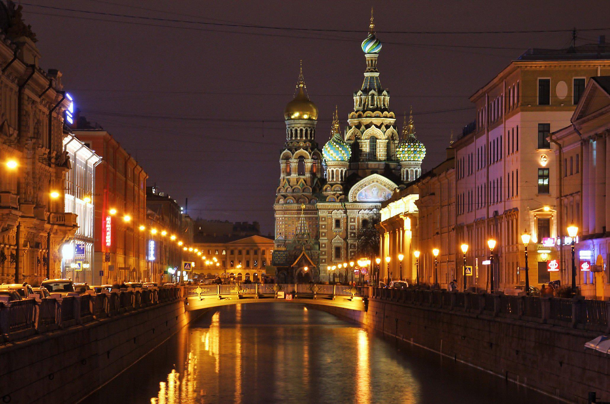WallpaperMISC - St. Petersburg Night HD Wallpaper 1 - 2060 X 1364 ...