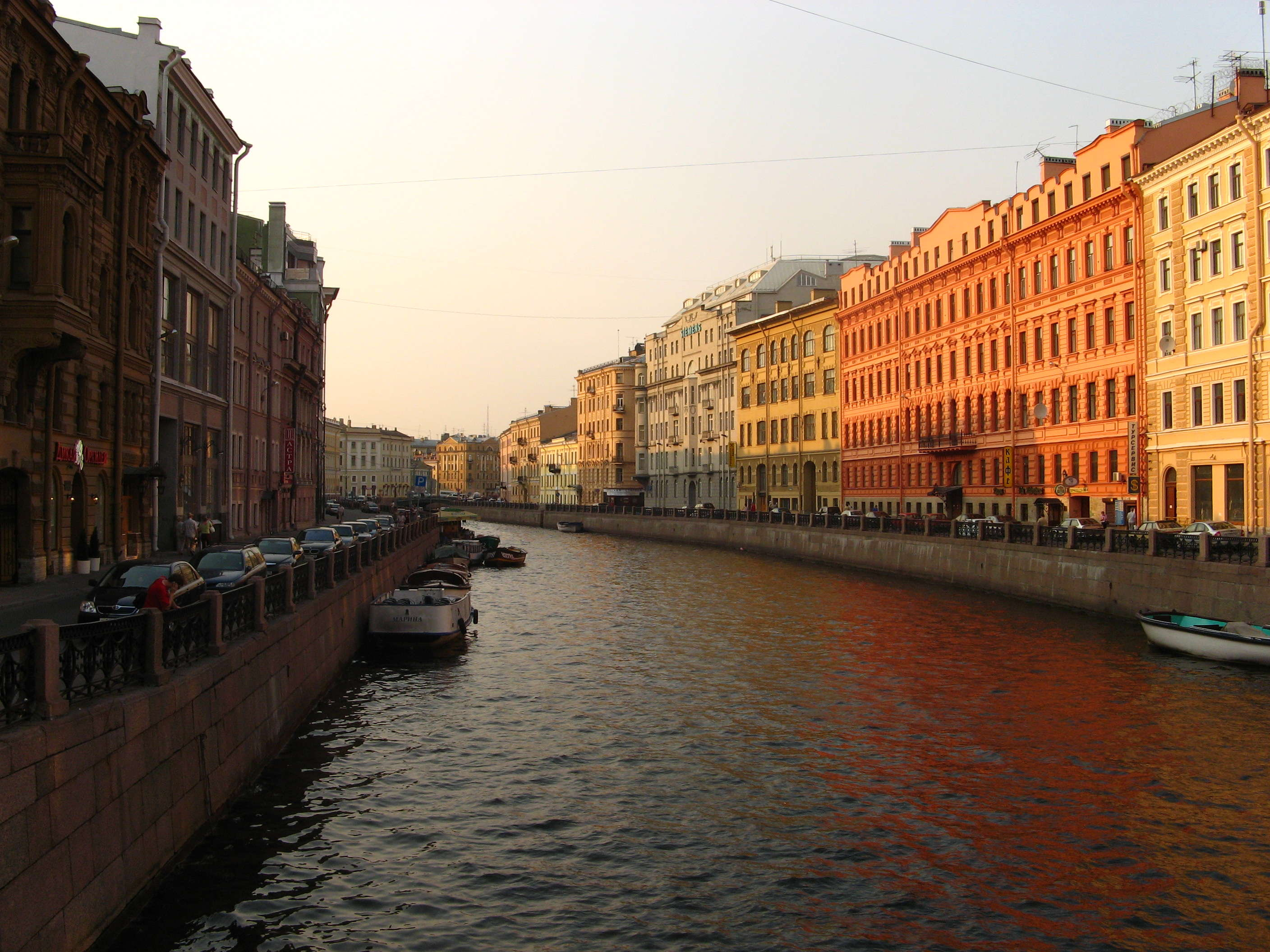 Body of Water, Canal, Saint Petersburg, Reflection, Town HD ...