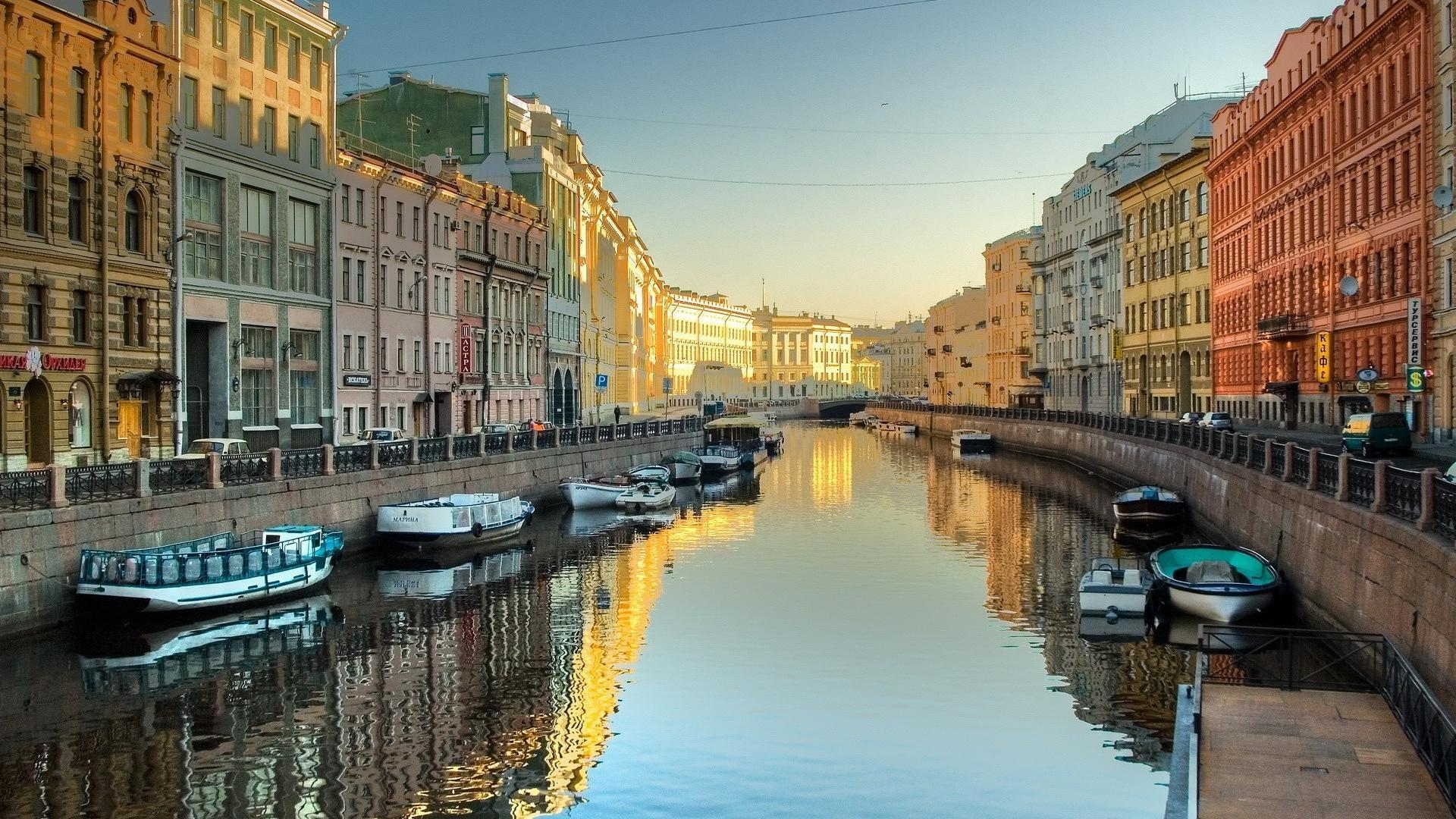 ???? Russia saint petersburg canal cityscapes wallpaper | (54296)