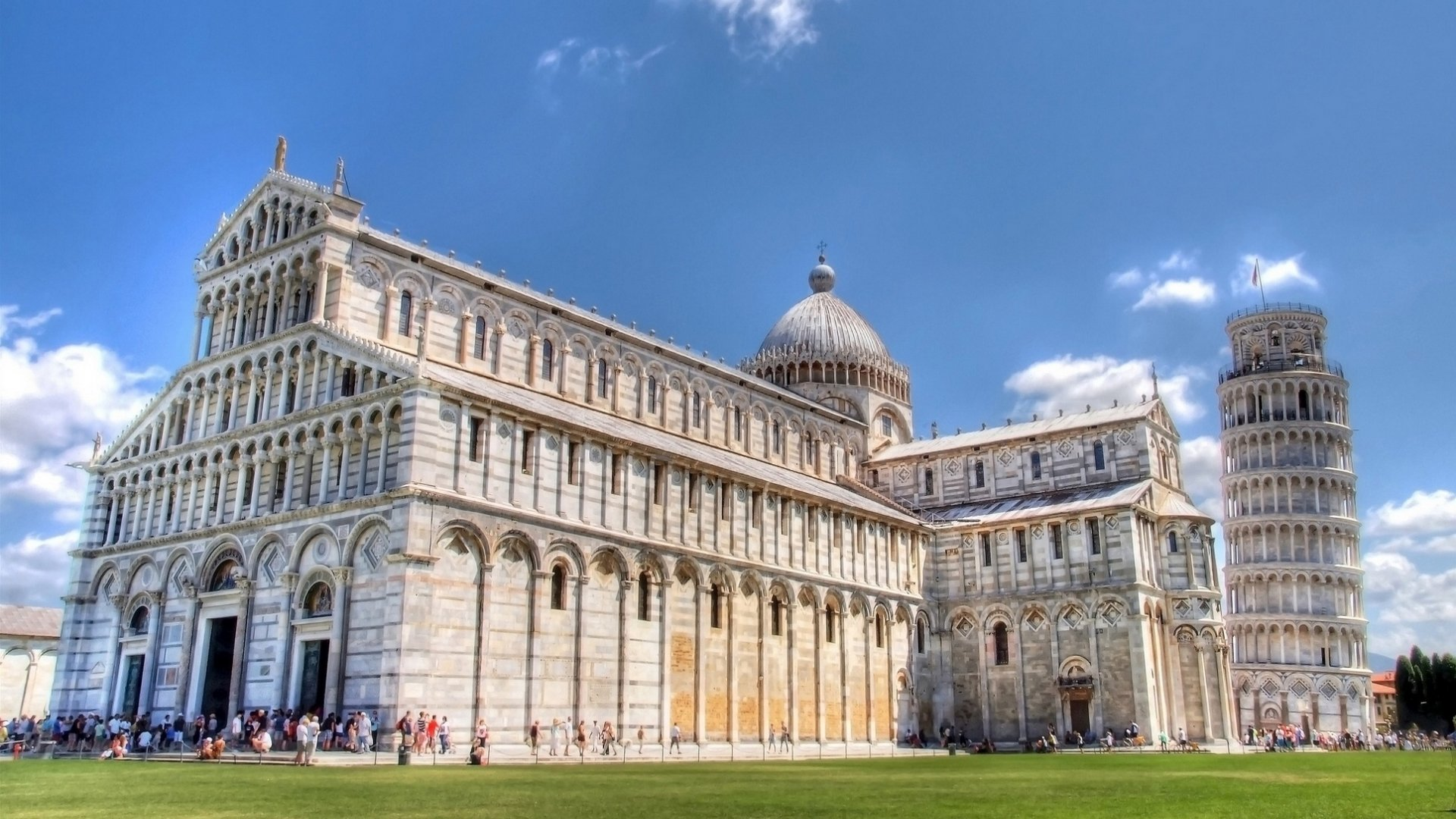 Pisa Tower Campanile Wallpapers HD – Travel HD Wallpapers