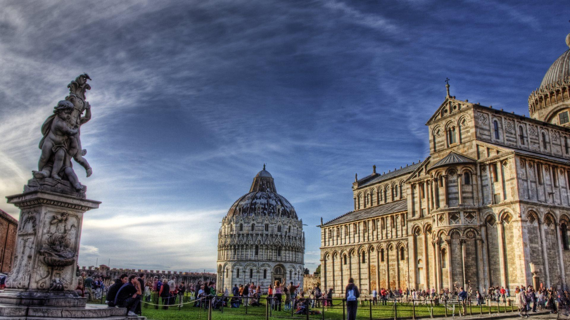1920x1080px Leaning Tower Of Pisa Wallpapers