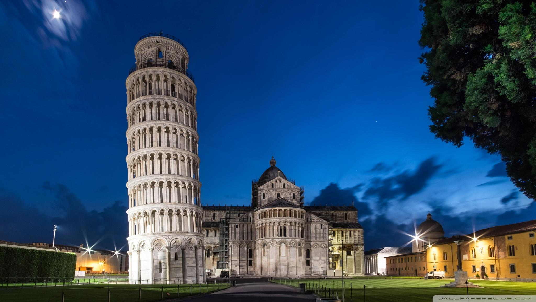 Leaning Tower of Pisa, Italy ❤ 4K HD Desktop Wallpapers for 4K Ultra