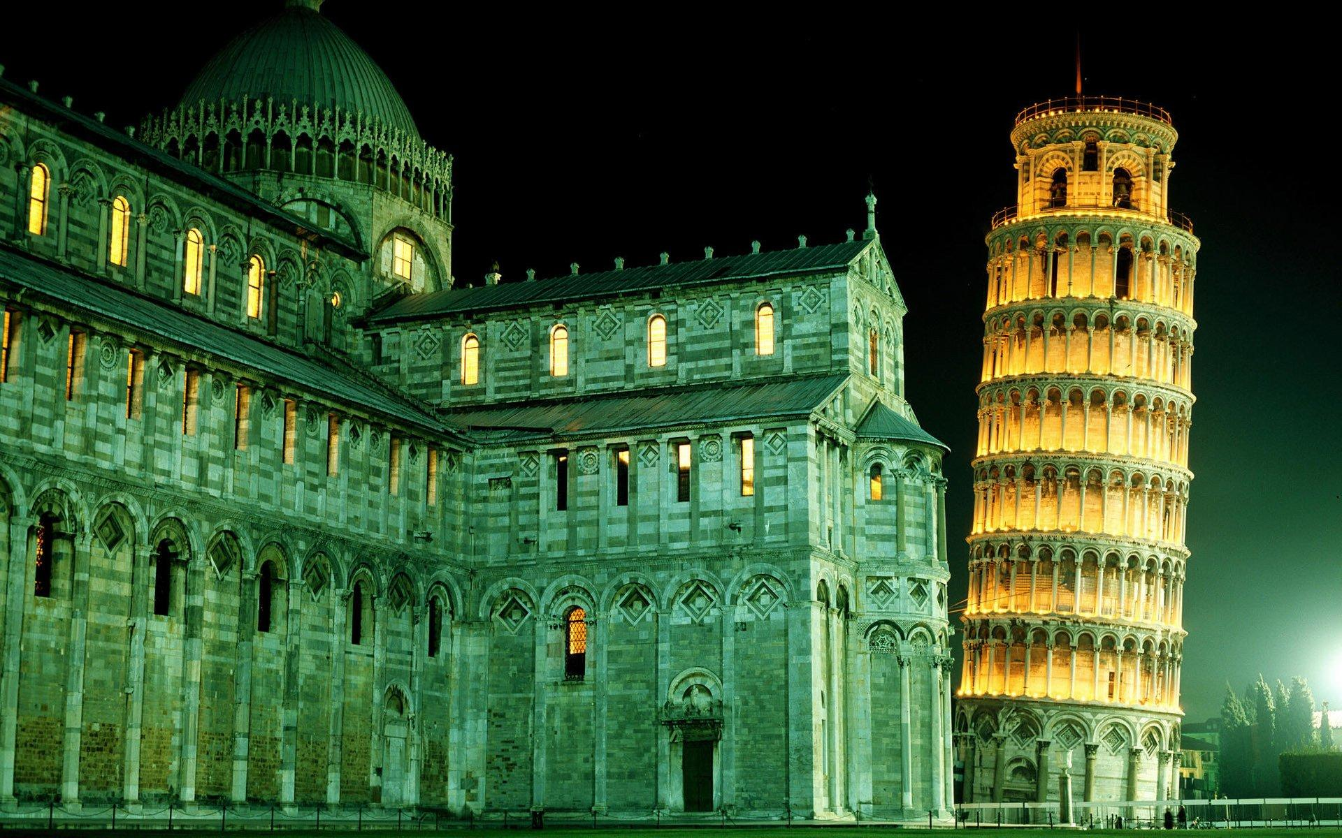 4 Leaning Tower Of Pisa HD Wallpapers