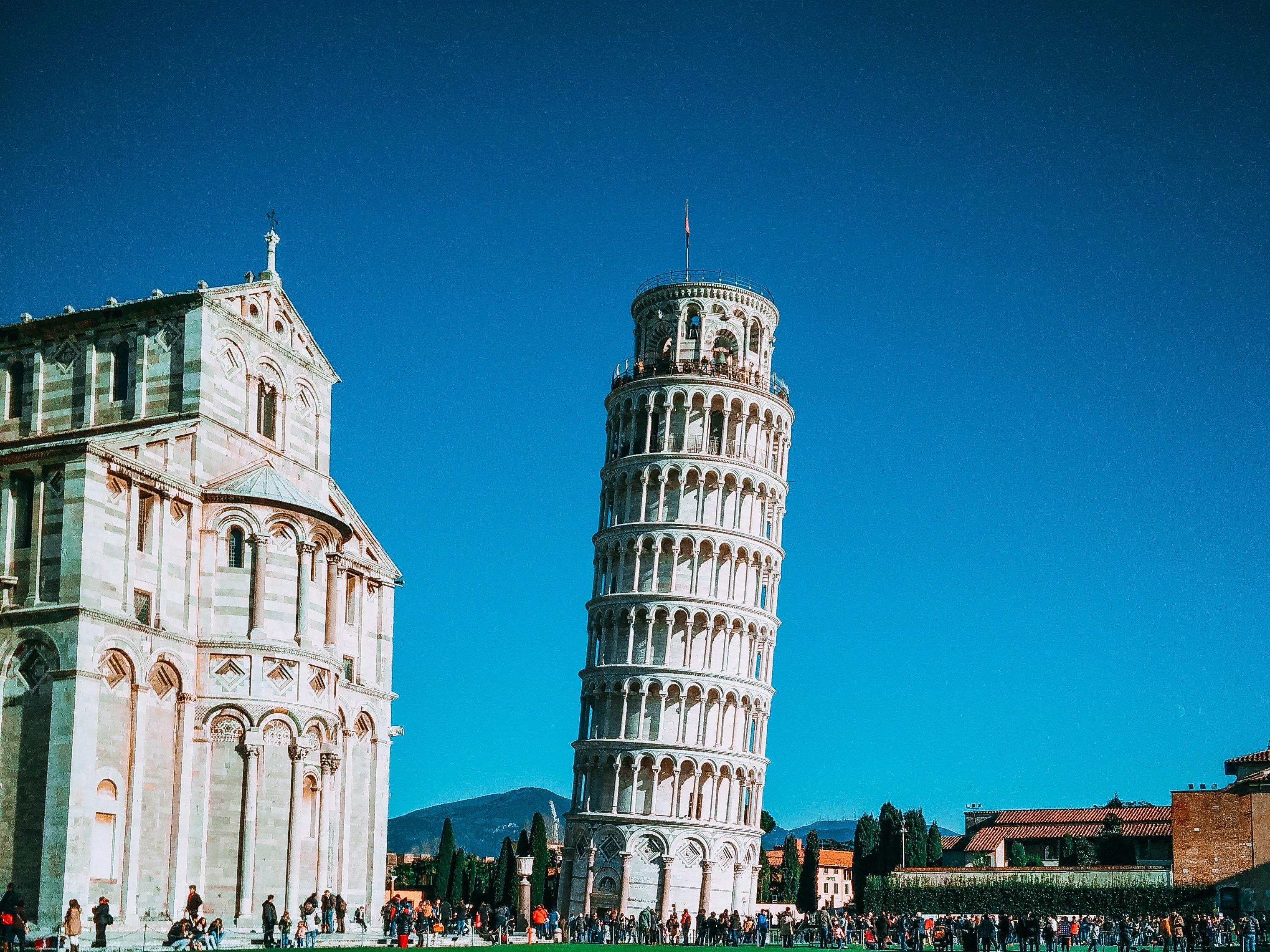 Free stock photo of italy, leaning tower of pisa, pisa