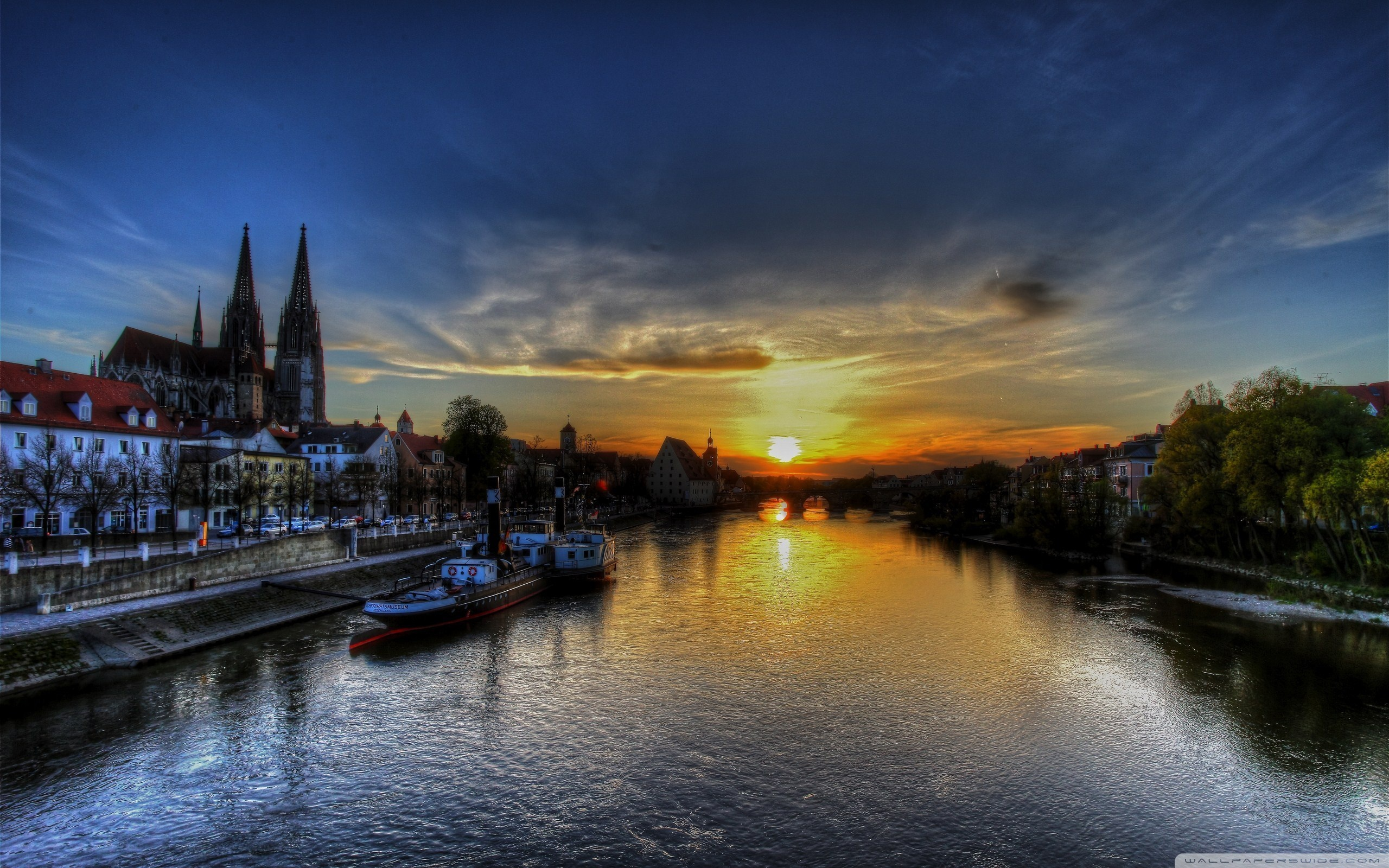 Regensburg Sunset ❤ 4K HD Desktop Wallpaper for 4K Ultra HD TV ...