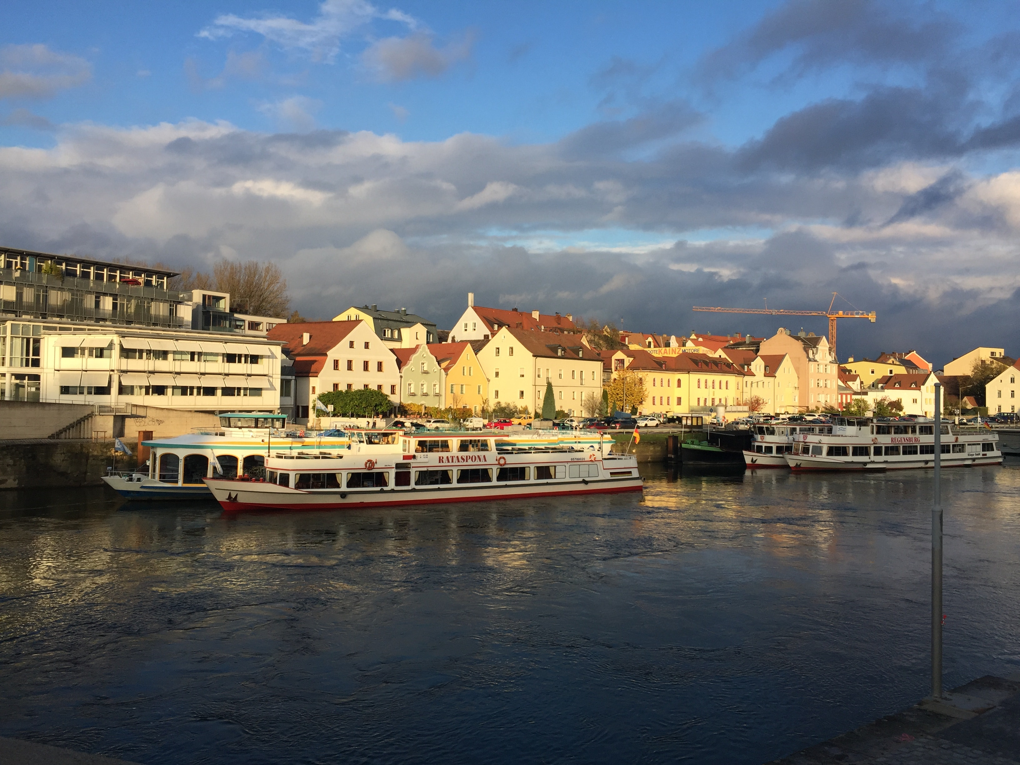 Free stock photo of Danube River Regensburg Germany
