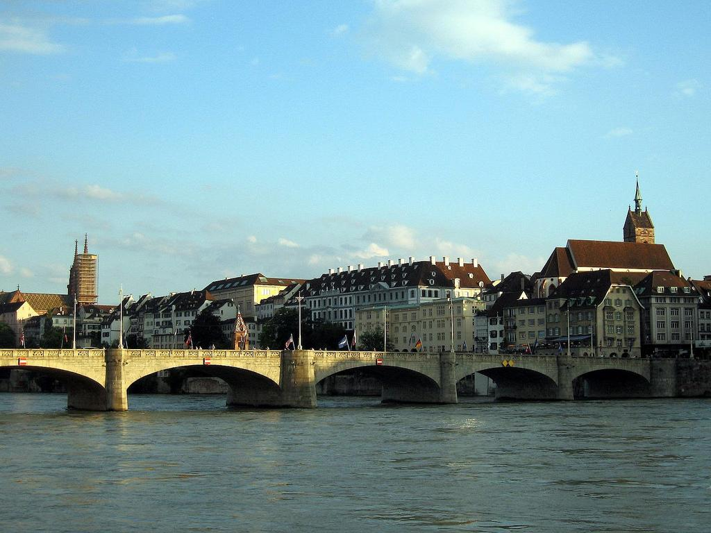 Basel rhine river wallpapers