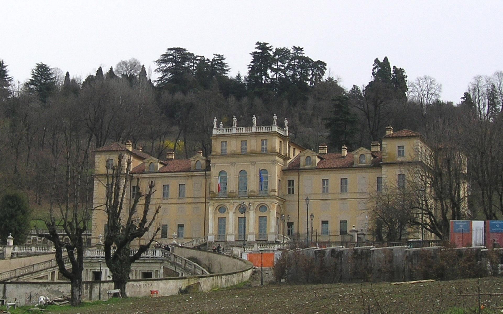Villa of the Queen in Turin Italy