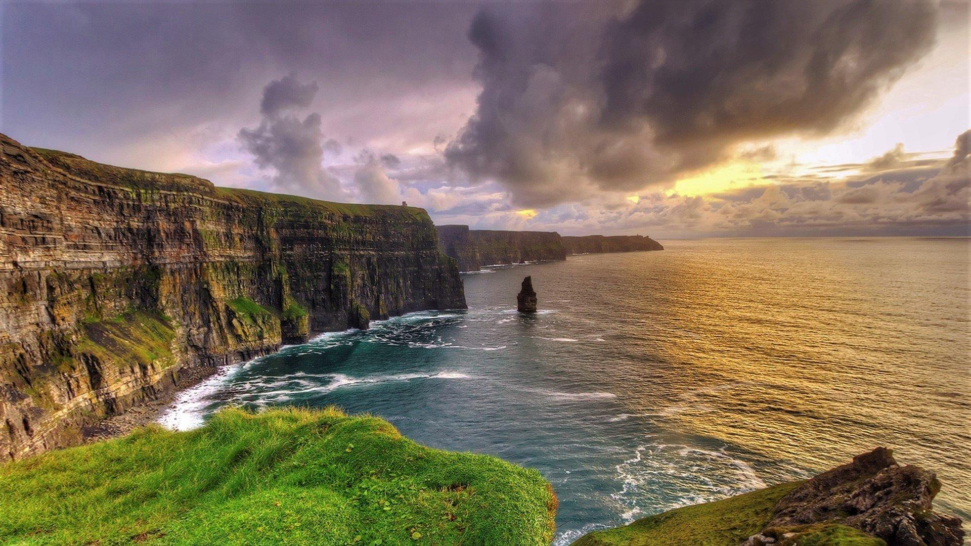 Cliffs of Moher in Ireland HD Wallpaper | Background Image ...