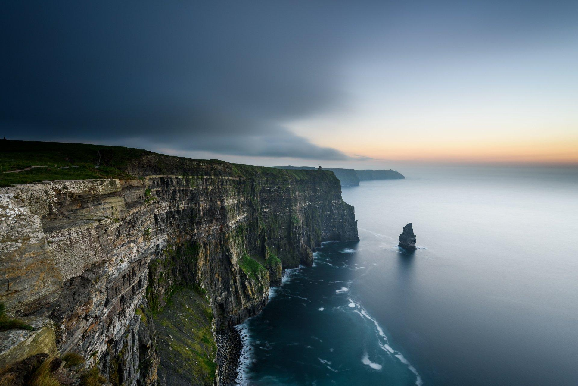 5 Cliffs of Moher HD Wallpapers | Background Images - Wallpaper Abyss