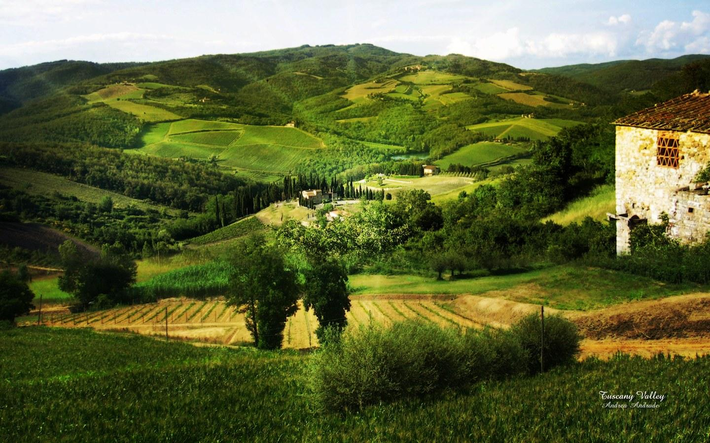 1440x900px Tuscan Countryside Wallpapers Desktop