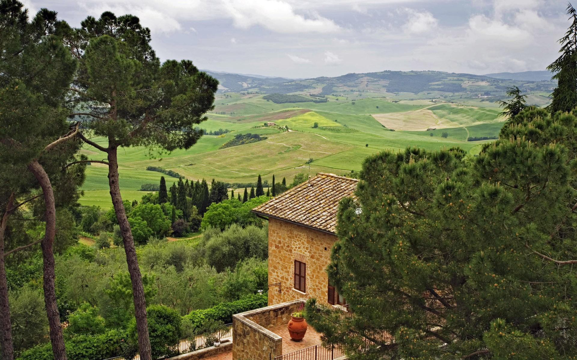 Tuscan Countryside Wallpapers Desktop