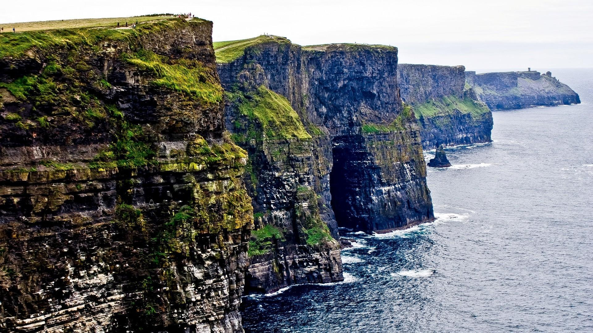 Cliffs of moher galway ireland coast wallpapers