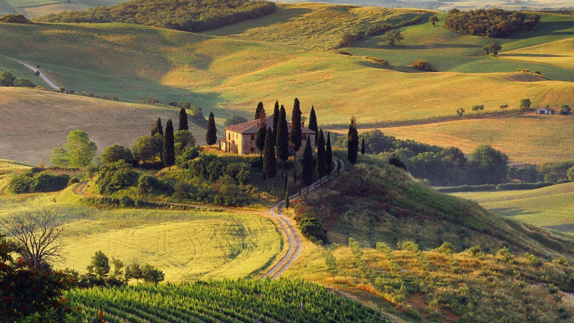 11970 tuscan countryside wallpapers desktop