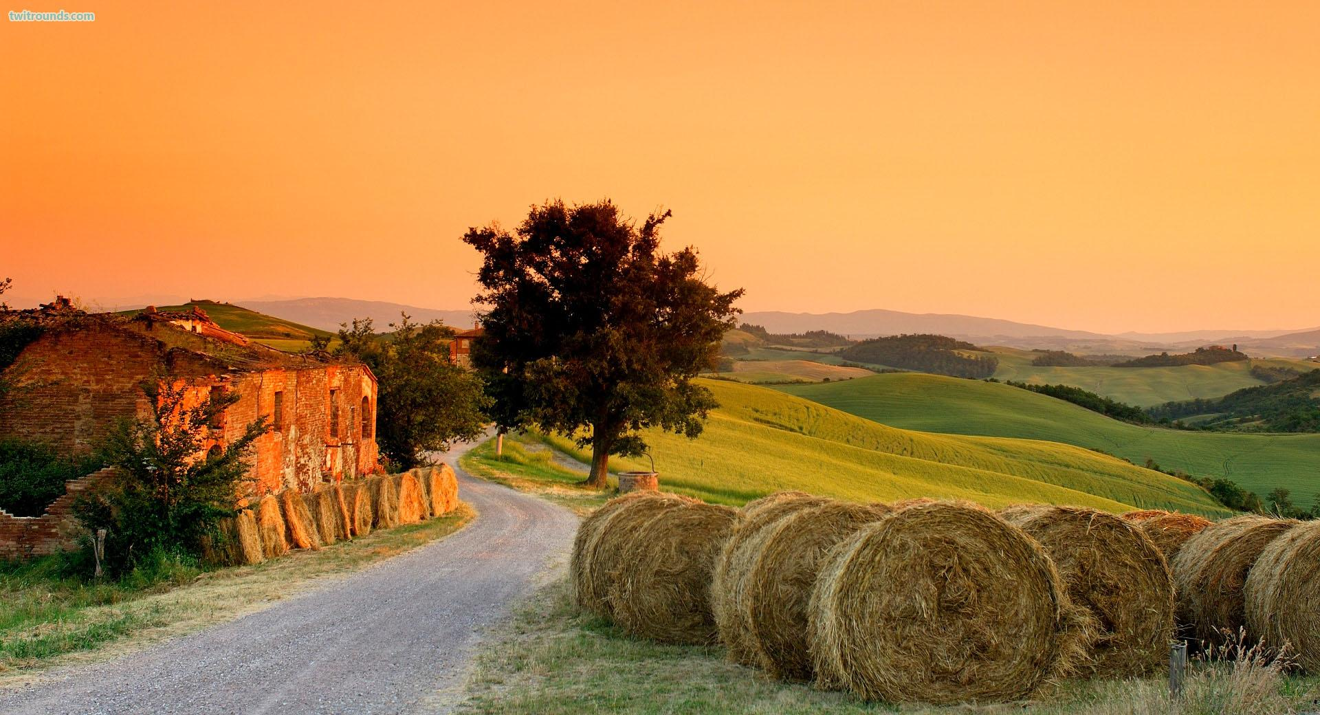 Tuscany Wallpaper for Desktop - WallpaperSafari