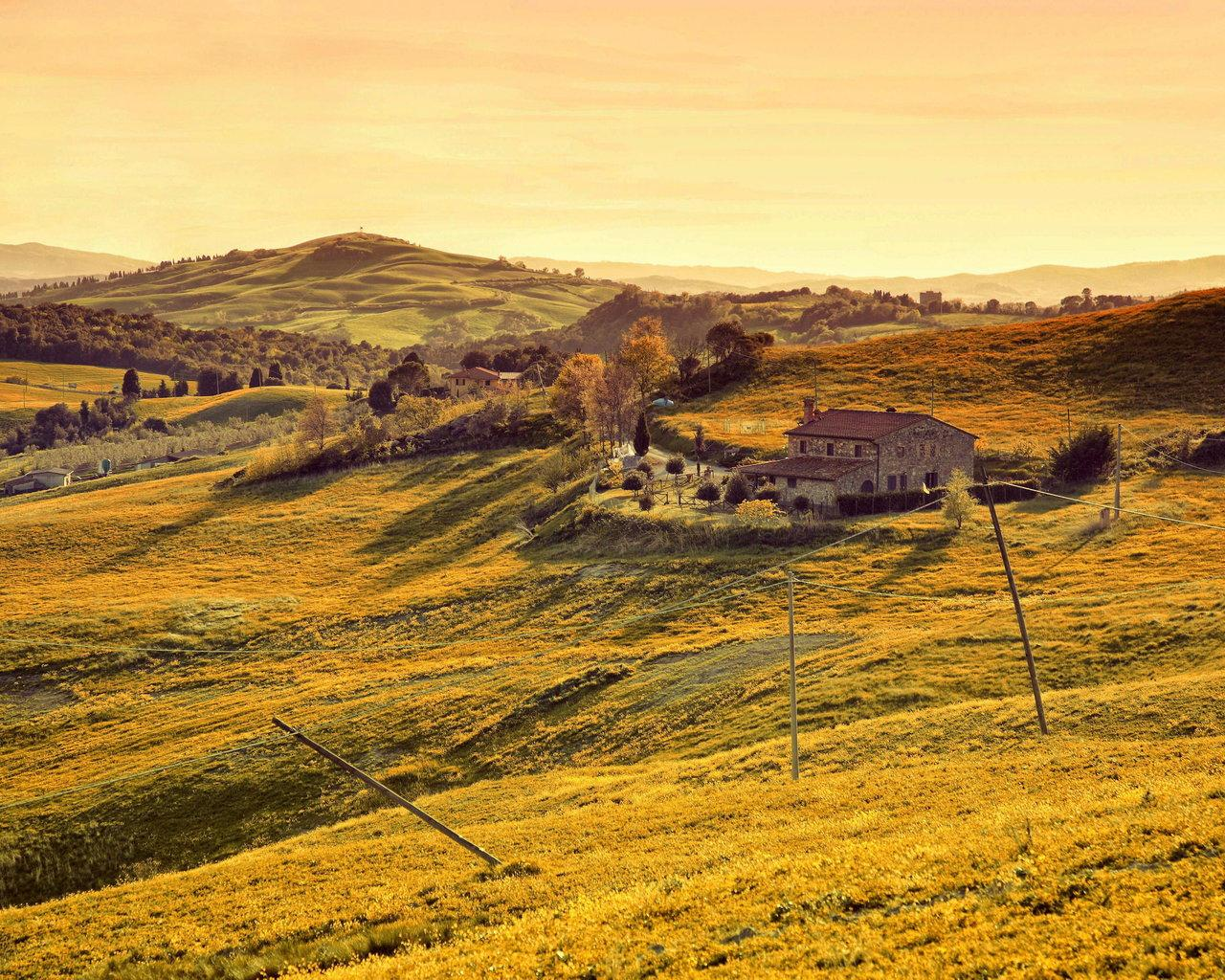 11970 tuscan countryside wallpaper desktop