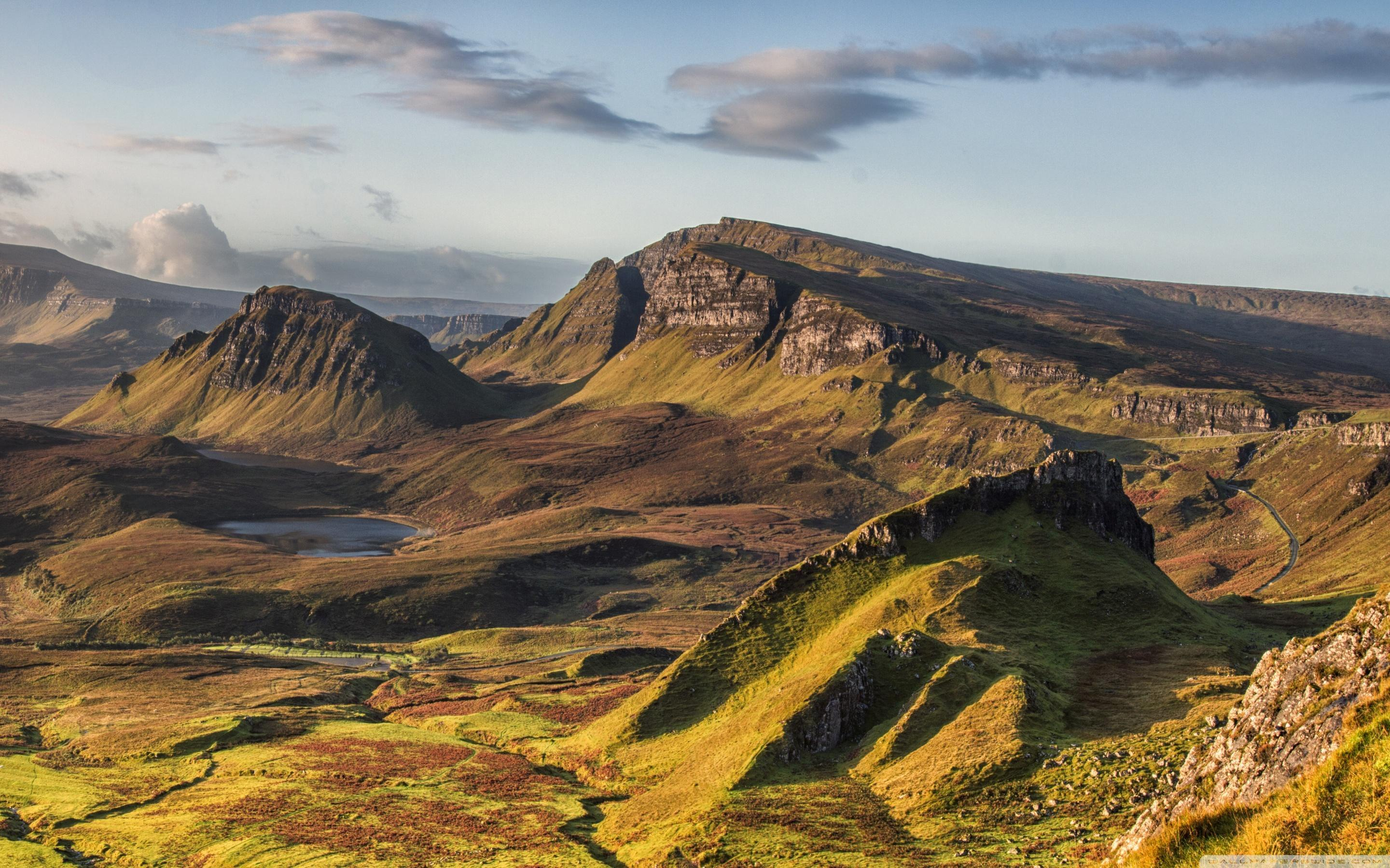 Quiraing Hill, Isle of Skye, Scotland ❤ 4K HD Desktop Wallpapers for