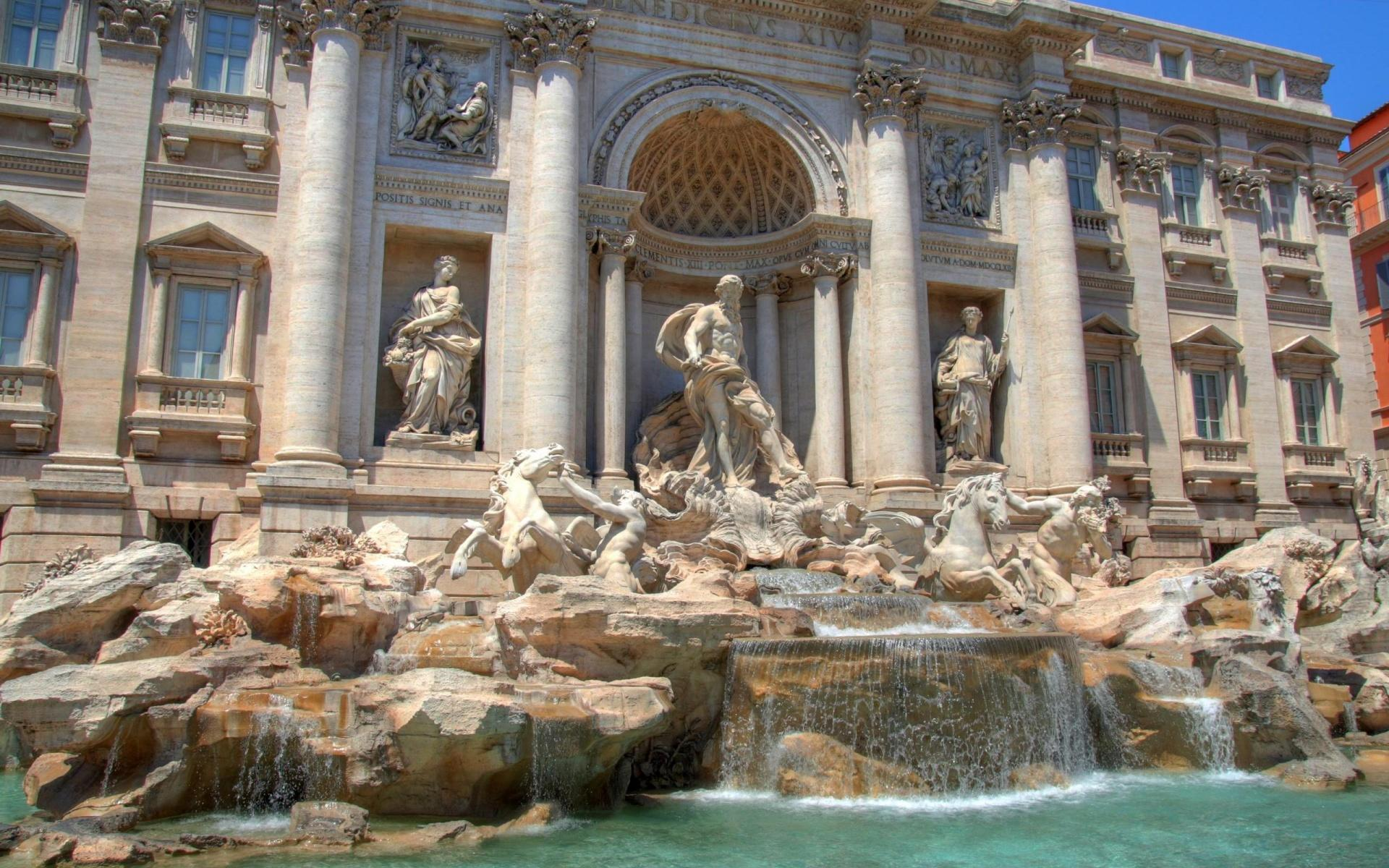 Modern Trevi Fountain Wallpapers – Travel HD Wallpapers