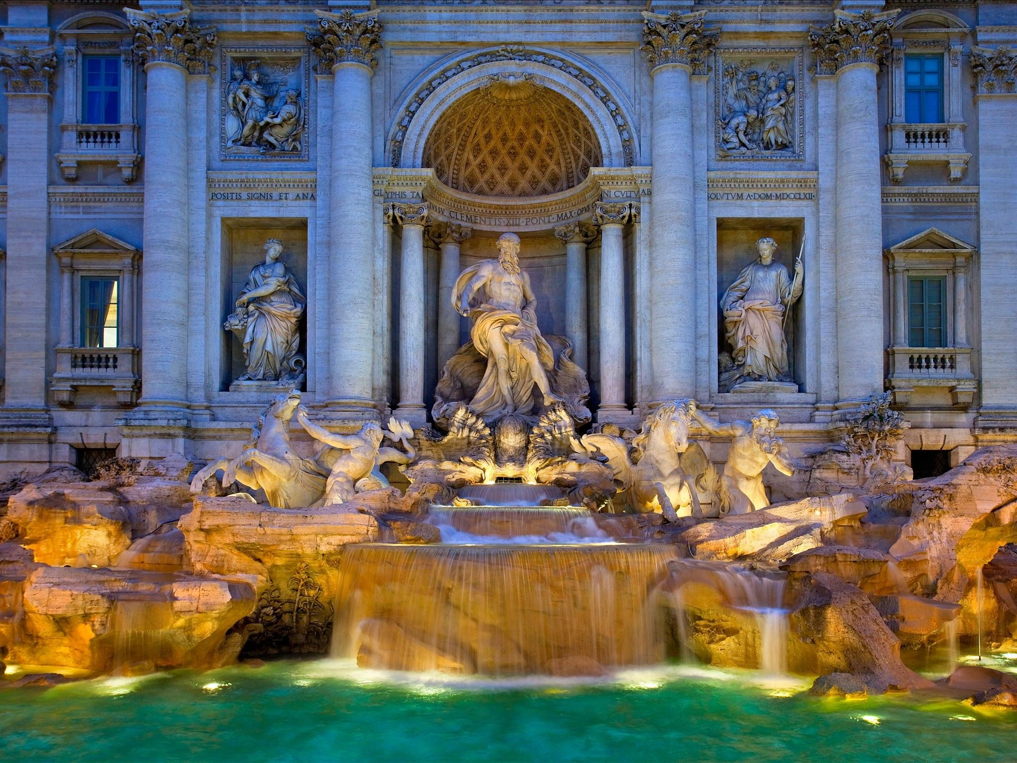 Trevi Fountain Wallpapers 17