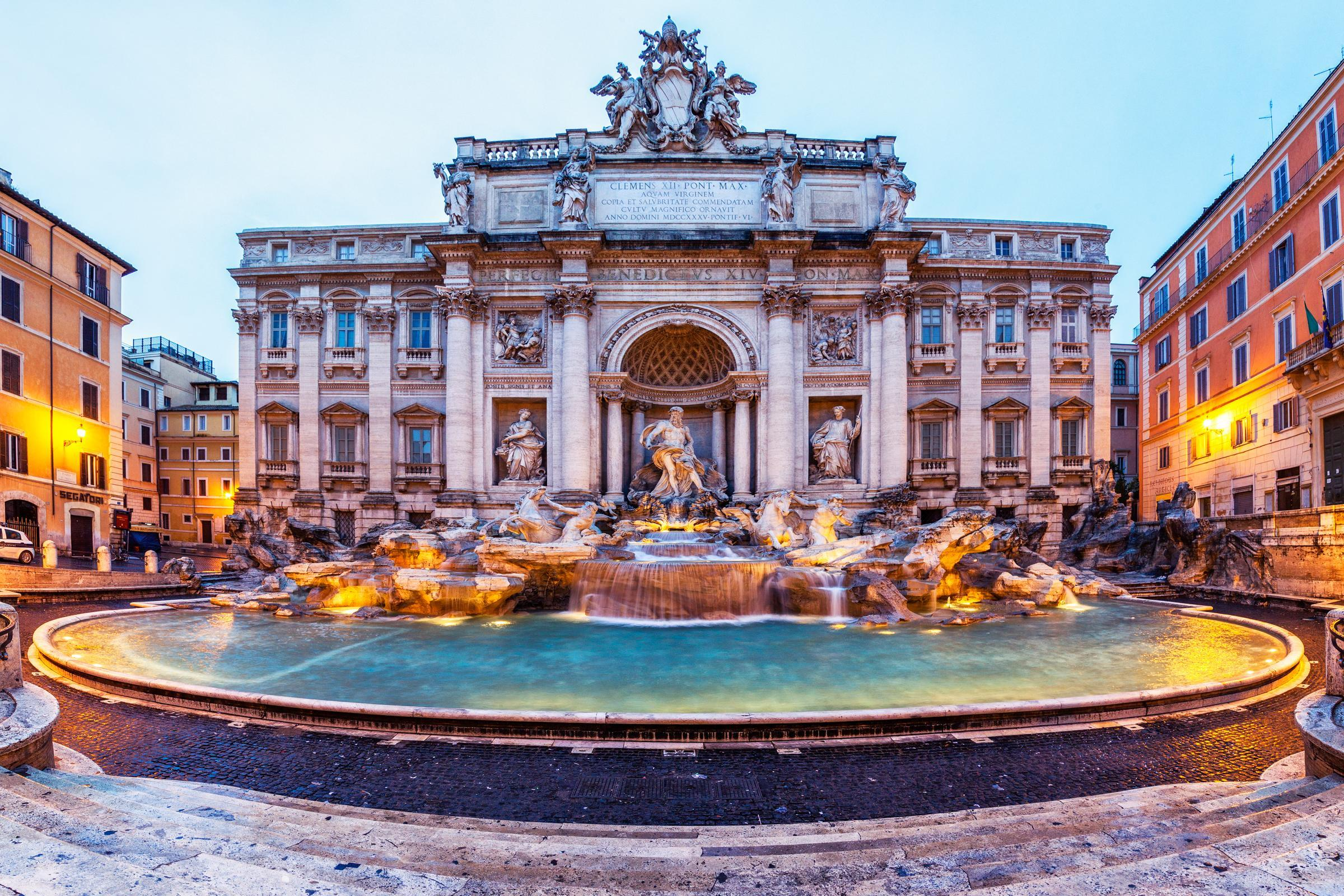 Trevi Fountain HD Wallpapers