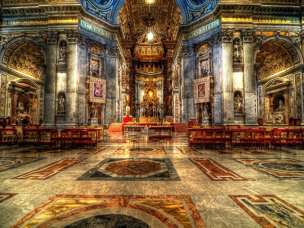 St Peter S Basilica Wallpapers Wallpaper Cave