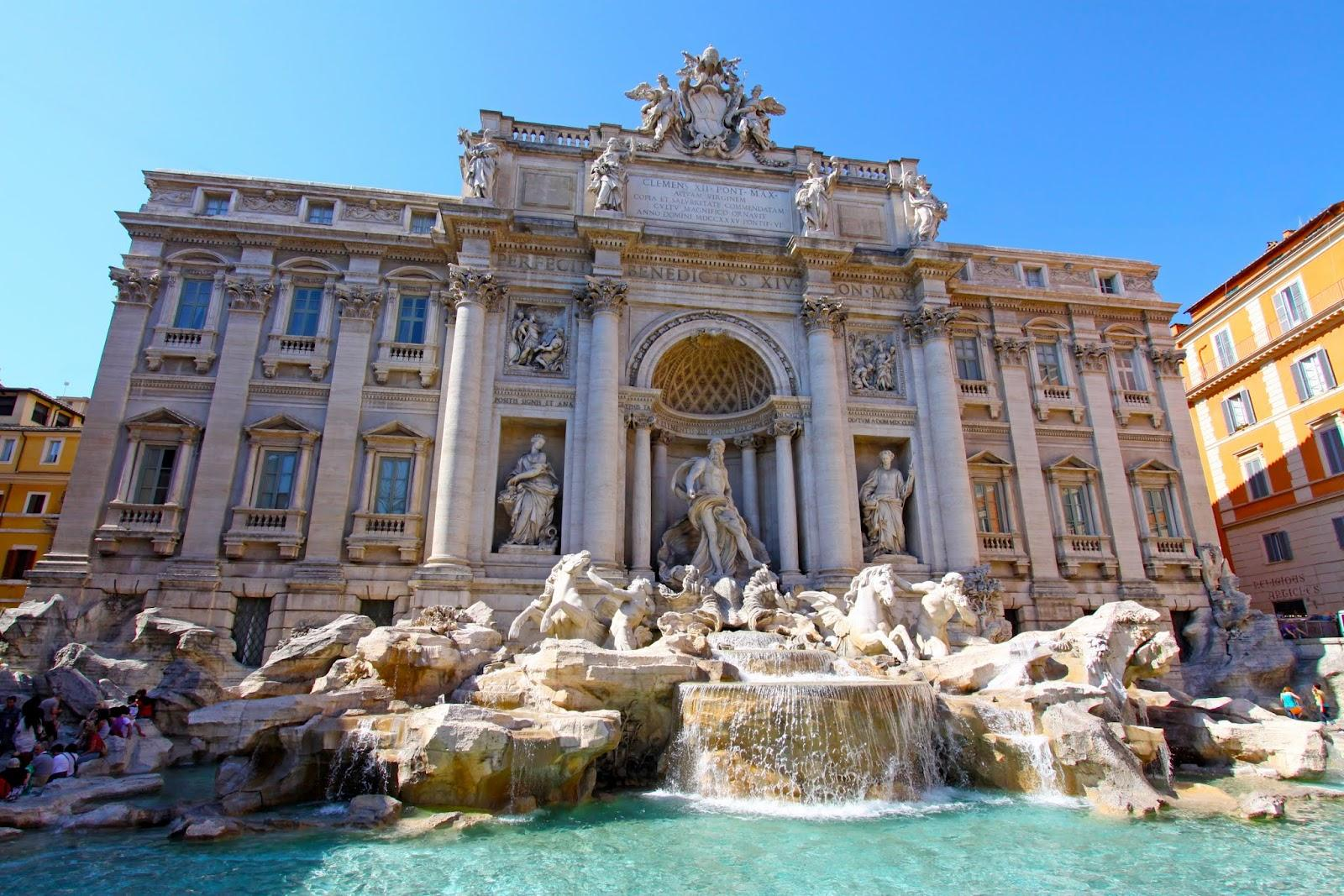 Trevi Fountain wallpapers Trevi Fountain HD desktop wallpapers