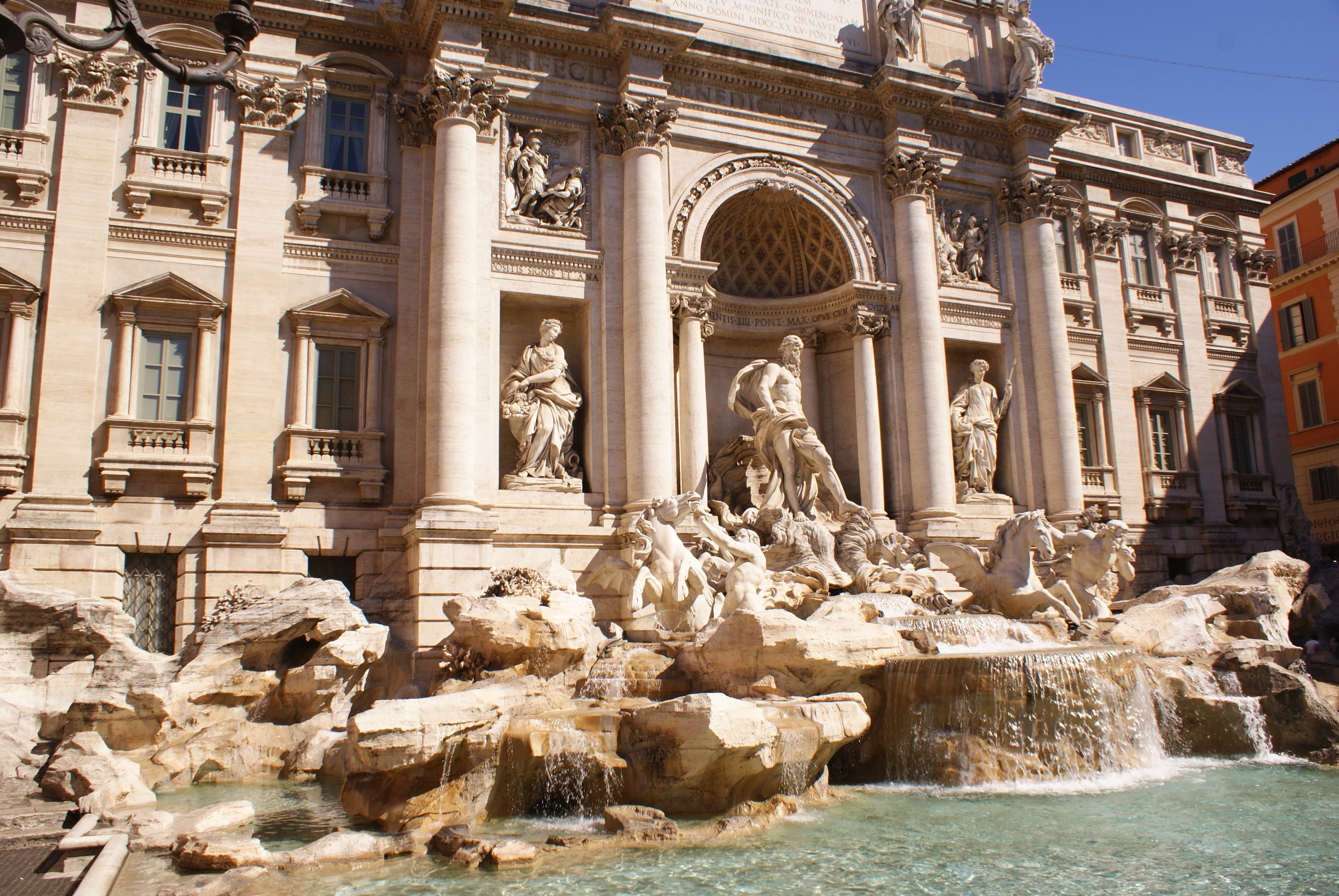 Trevi Fountain, Rome HD wallpapers