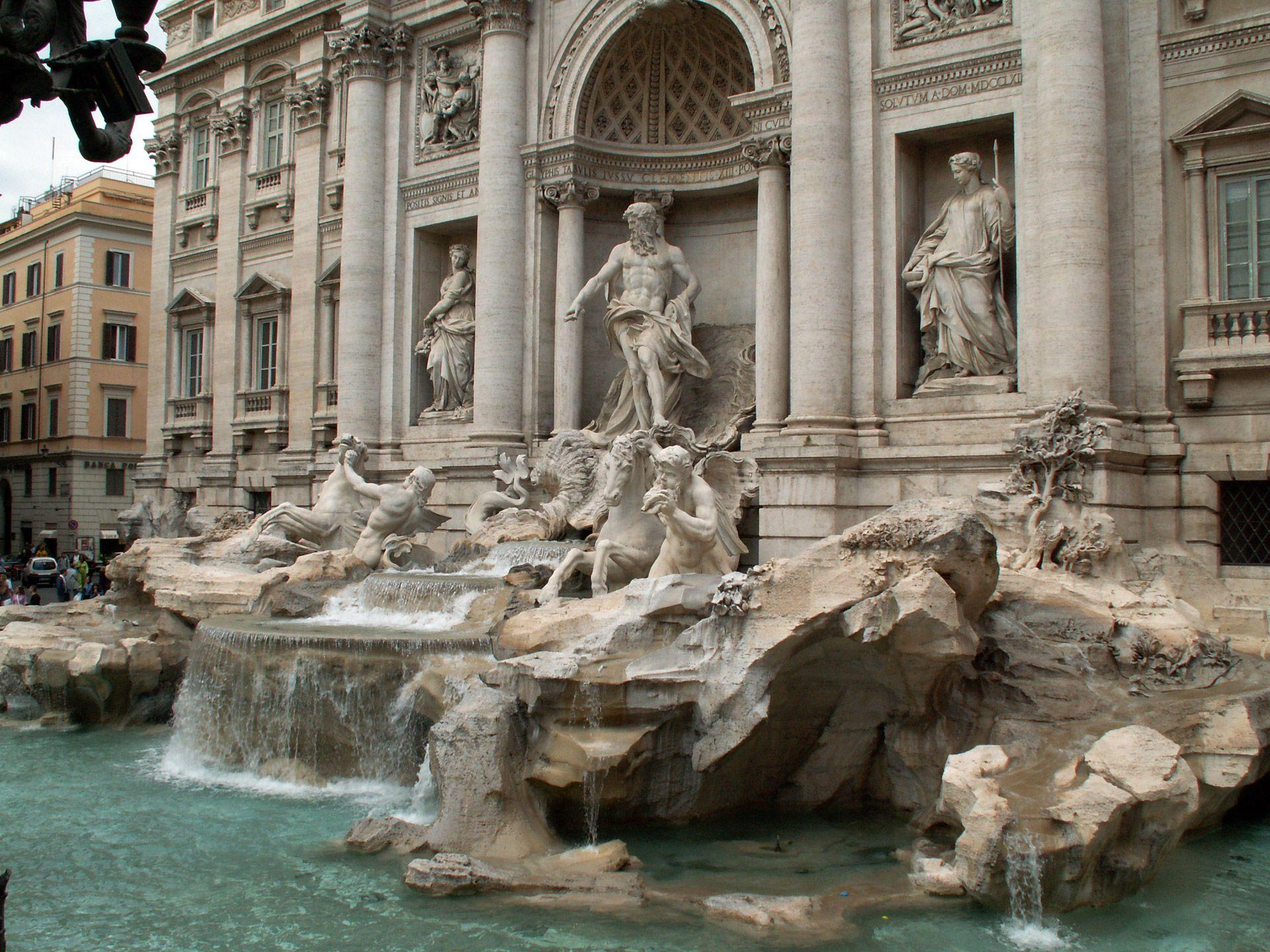 undefined Trevi Fountain Wallpapers