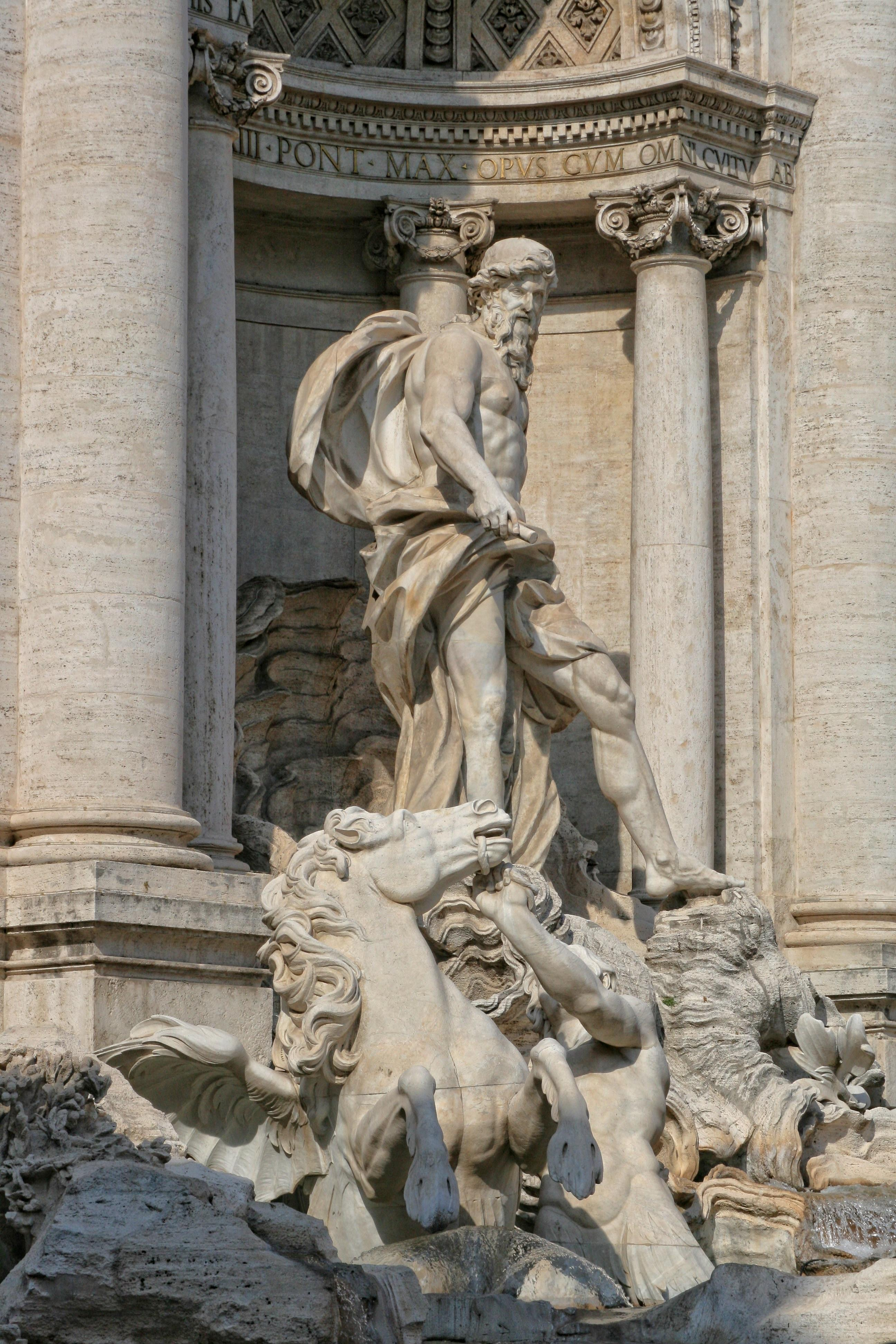 Group of Trevi Fountain Sculpture Wallpapers