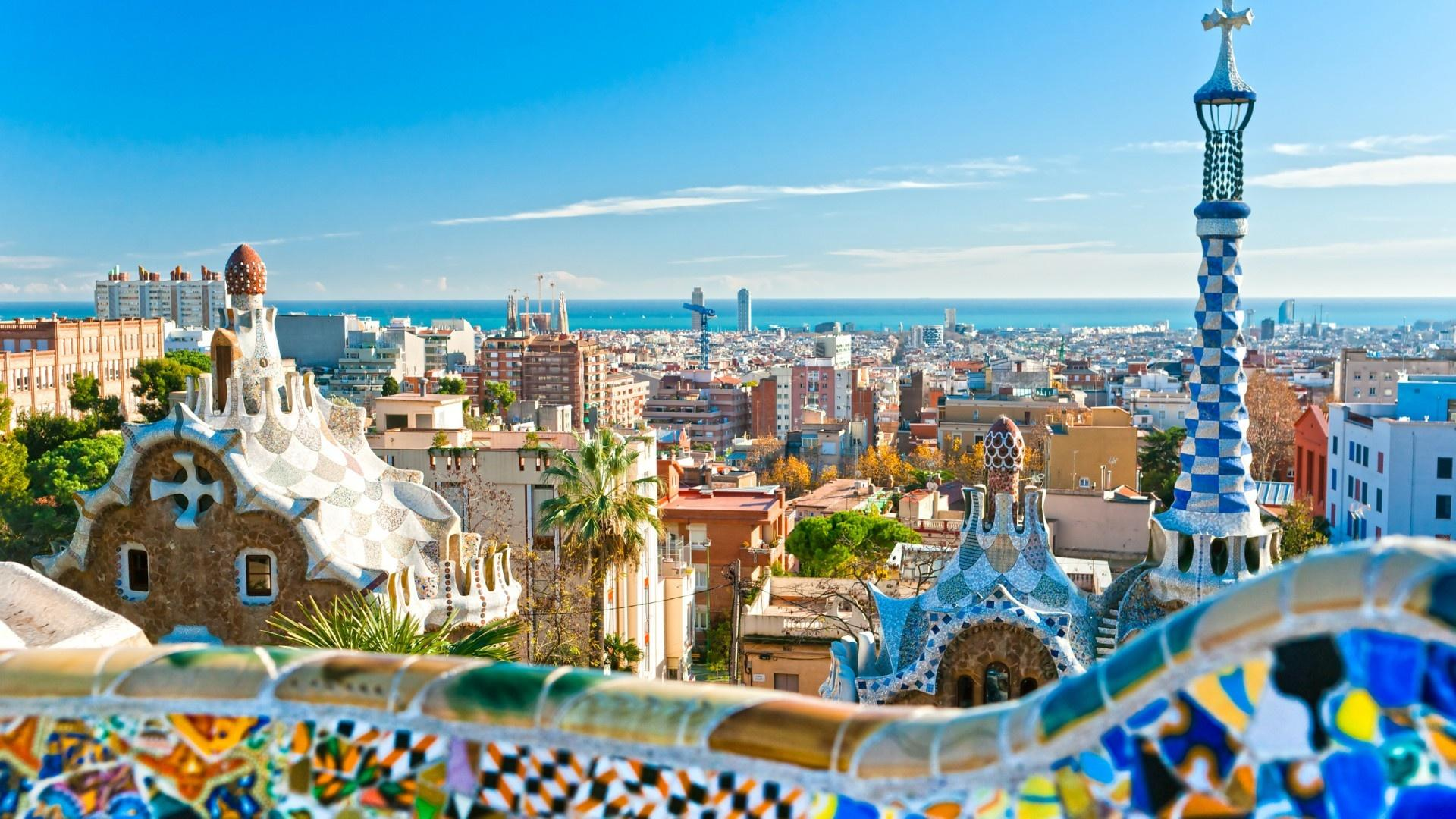 Park Guell Wallpapers Wallpaper Cave