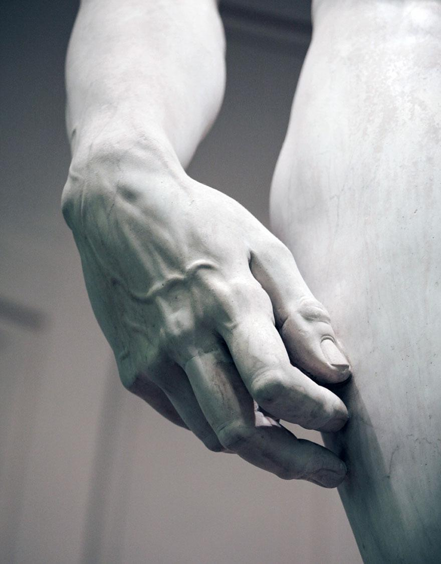 Close-Ups Of Michelangelo's David Will Make You Appreciate It Even ...